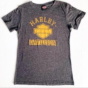 Harley Davidson Slub Graphic Tee